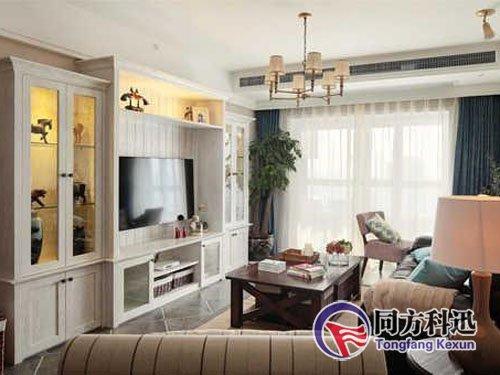 或装入壁橱内,因此家用中央空调的安装必须与家庭装修统一协调考虑.